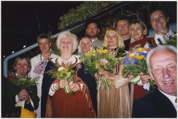 13. latviešu deju svētku virsvadītāji